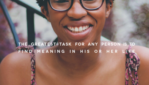 The Greatest Task…