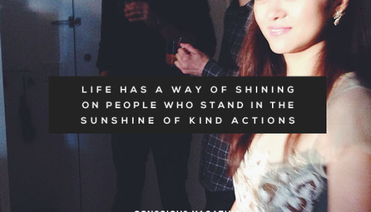 Stand in The Sunshine of Kind Actions