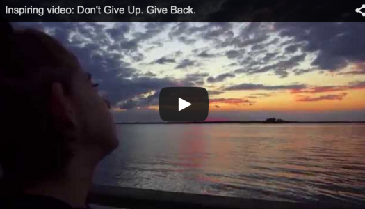 Inspiring Video by Livy's Hope. Don't Give Up. Give Back