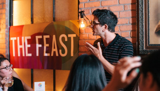 "The Feast: Introducing ""Right To Play"" and 5 Ways to Make Work Fun"