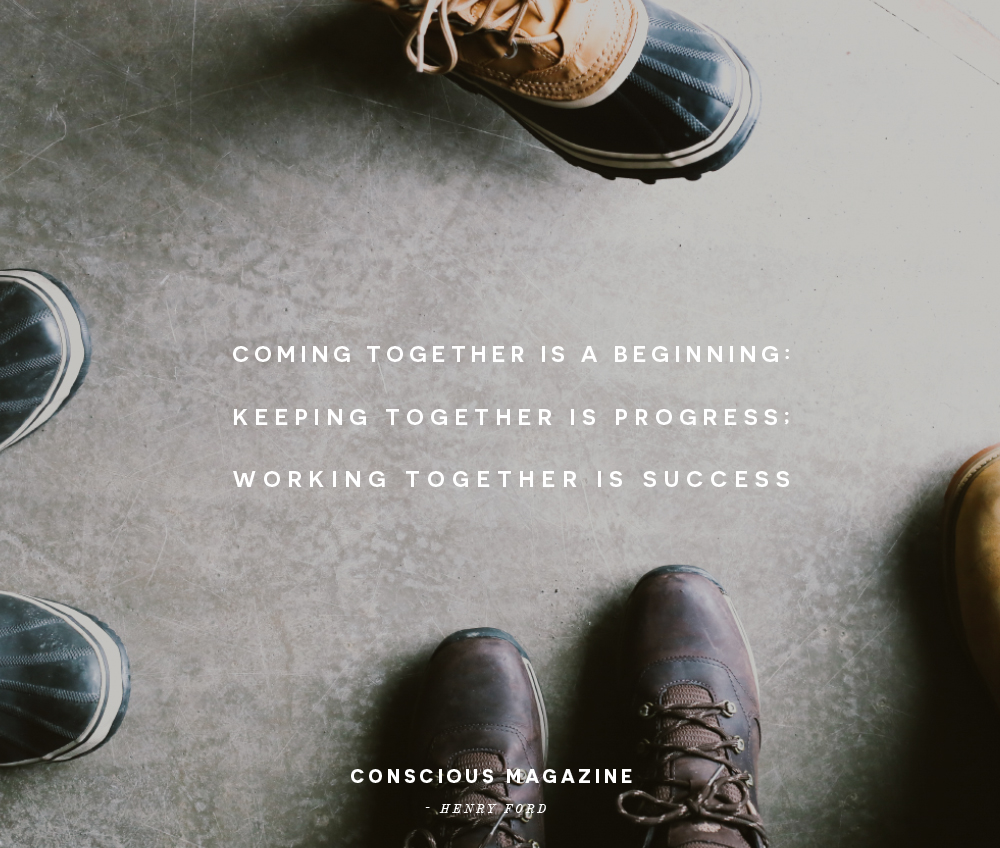 Henry Ford Education >> Coming together is a beginning; Keeping together is progress; Working together is success ...