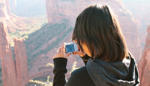 Teaching Photography to Tweens on the Navajo Reservation