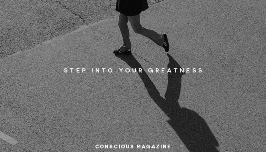 Step into your greatness.