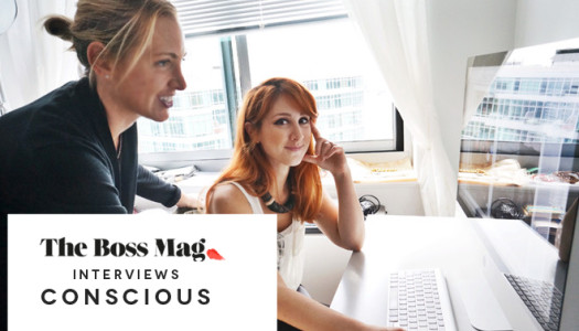 Press: The Boss Magazine Interviews Conscious Founders
