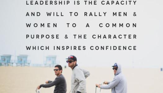 Leadership Rallies Men and Women….