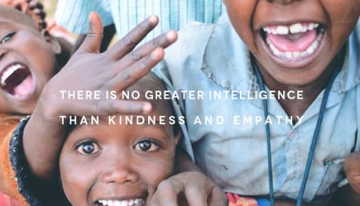 Kindness And Empathy…