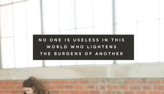 Lighten the Burdens of Another