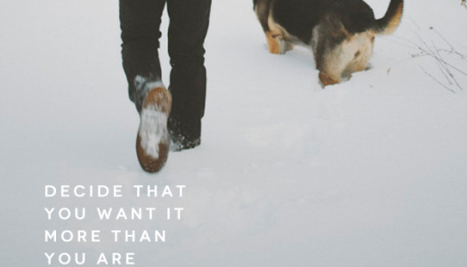 Decide That You Want It