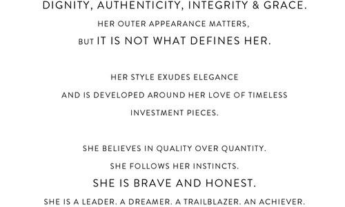Manifesto: The Refined Woman