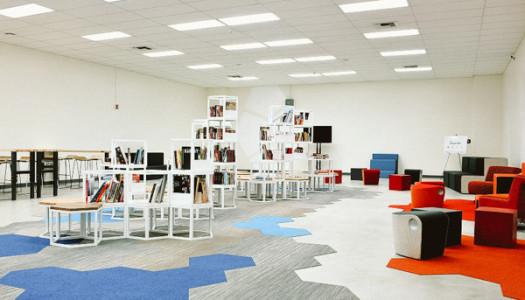 Green Dot Public Schools & No Right Brain Left Behind are Transforming Public School Libraries