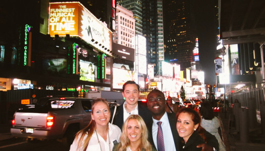 A Bit of Conscious in Times Square Celebrating 2 Years!