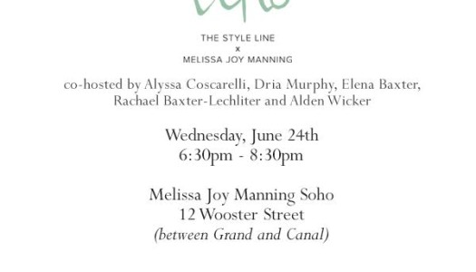 Event: The Style Line x Melissa Joy Manning ECHO Style Collection Launch