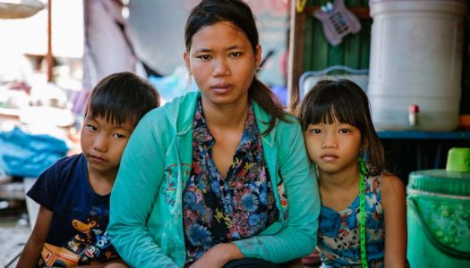 In Cambodia, Mother With HIV Fights for Her Children's Future