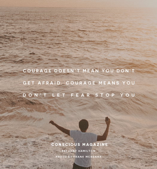 Living a life of meaning takes a good dose of courage  |