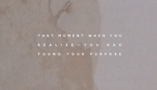That moment when you realize—you had found your purpose. #consciousdaily